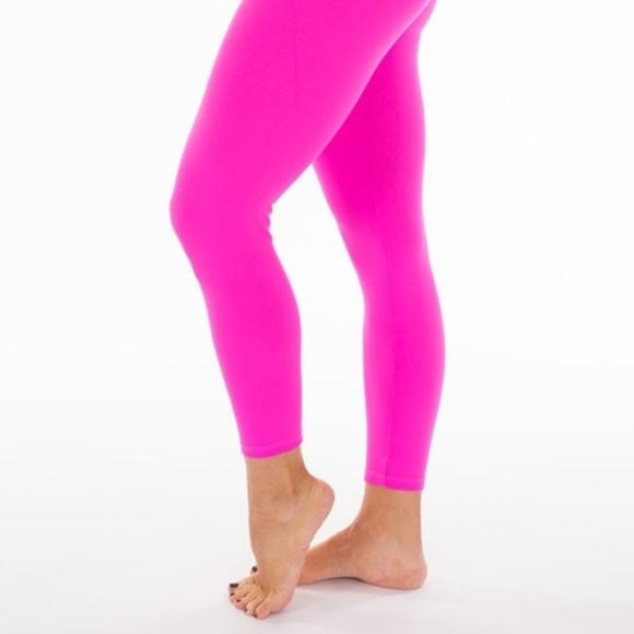 46c89ba762 Yogalicious Pants | Nwot Soft Hot Pink Workout Yoga Leggings | Poshmark